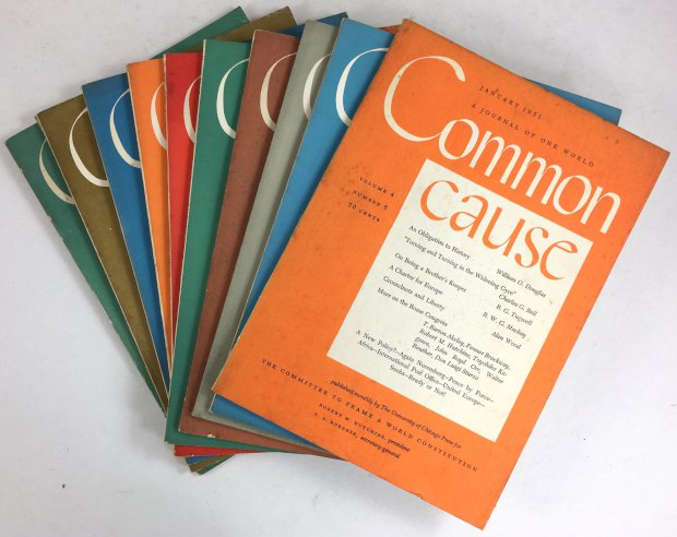 "Abbildung von ""Common Cause. A Journal of one World. Volume 3, Nos..."""