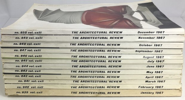 "Abbildung von ""The Architectural Review 1967 (complete). No. 839 Vol. CXLI - Nr..."""