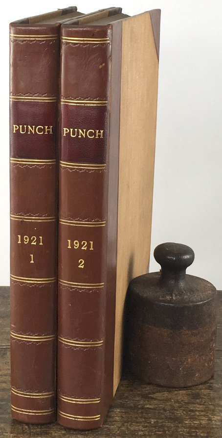 "Abbildung von ""Punch, or The London Charivari. Vol. 160/161. January 5 - December 28 (1921 + Punch's Almanack for 1921."""