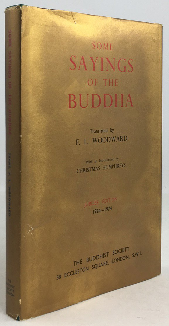 "Abbildung von ""Some Sayings of the Buddha according to the Pali Canon..."""