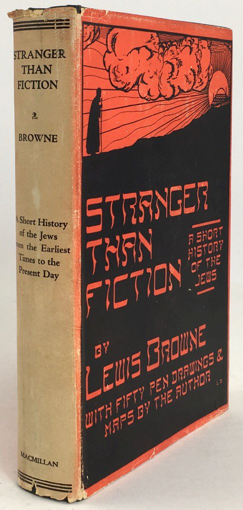 "Abbildung von ""Stranger than fiction. A short history of the Jews from earliest times to the present day..."""
