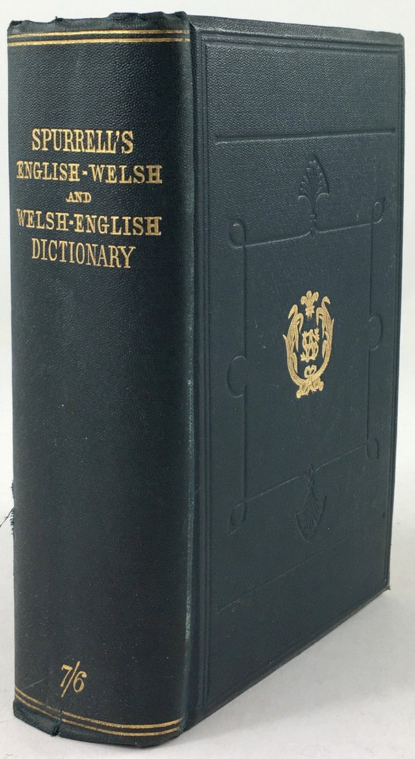 "Abbildung von ""An English-Welsh Pronouncing Dictionary with preliminary observations on the elementary sounds of the english language,..."""