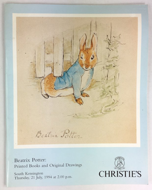 "Abbildung von ""Beatrix Potter : Printed Books and Original Drawings."""