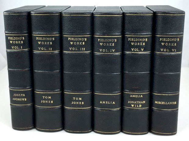 "Abbildung von ""The Works of Henry Fielding. Edition de Luxe. 6 Volumes (complete)..."""