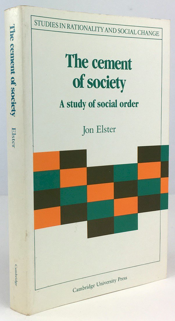 "Abbildung von ""The cement of society. A study of social order."""