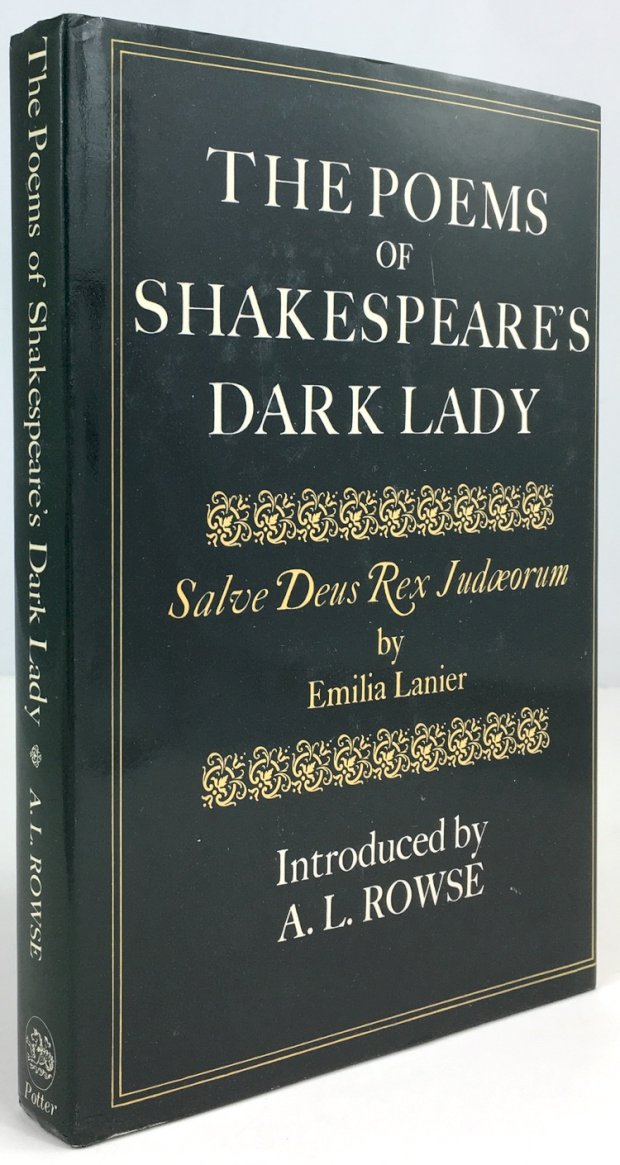 "Abbildung von ""The Poems of Shakespeare's Dark Lady - Salve Deus Rex Judaeorum. Introduction by A. L. Rowse."""