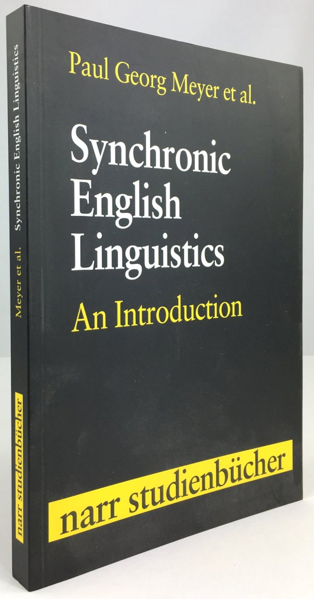 "Abbildung von ""Synchronic English Linguistics. An Introduction. In collaboration with Andreas Frühwirt,..."""