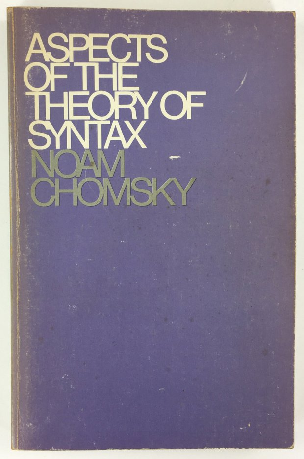 "Abbildung von ""Aspects of the Theory of Syntax."""