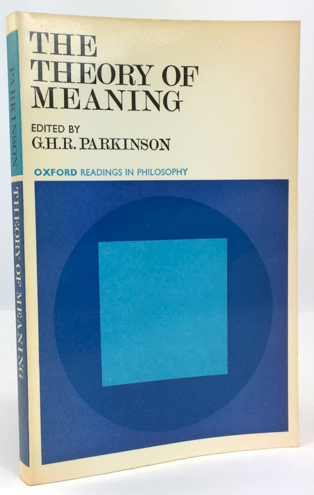 "Abbildung von ""The Theory of Meaning."""