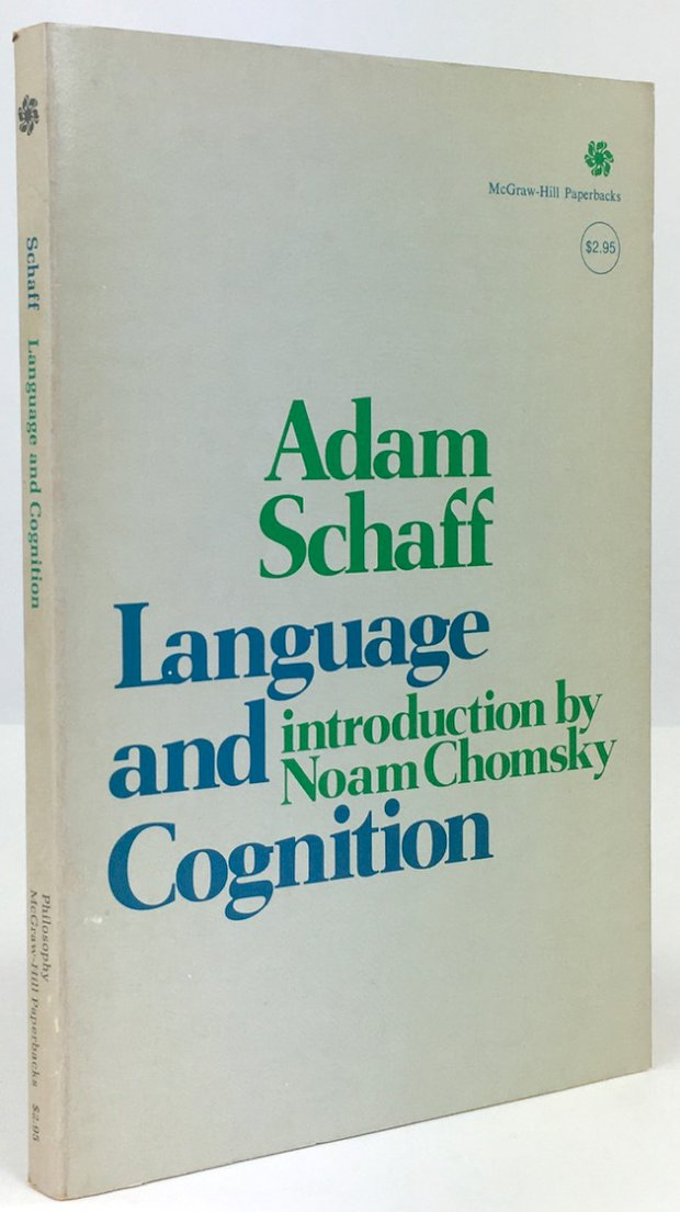 "Abbildung von ""Language and Cognition. Introduction by Noam Chomsky. Edited by Rober S. Cohen..."""