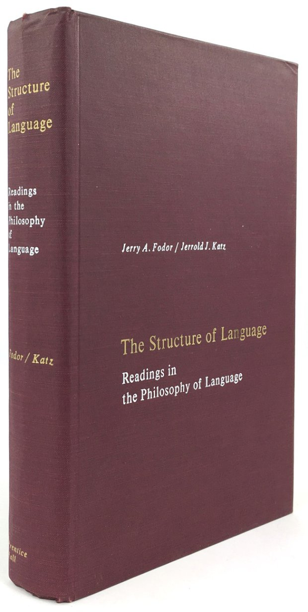 "Abbildung von ""The Structure of Language. Readings in the Philosophy of Language."""