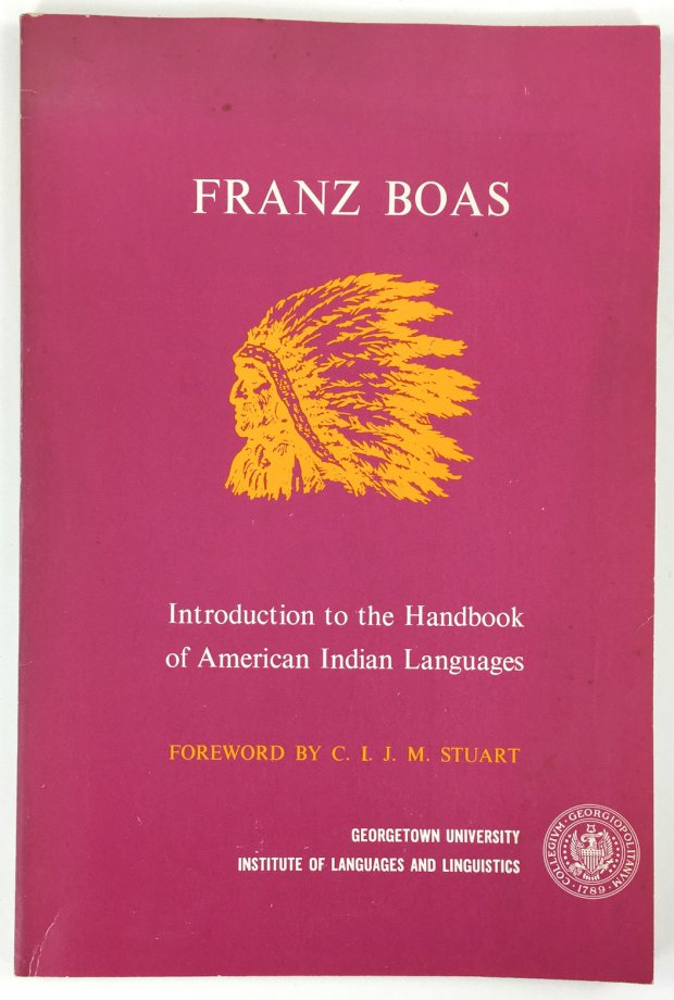 "Abbildung von ""Introduction to the Handbook of American Indian Languages. Foreword by C.L.J.M. Stuart."""