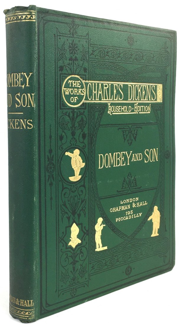 "Abbildung von ""Dombey and Son. With Sixty-Two Illustrations by F. Barnard."""